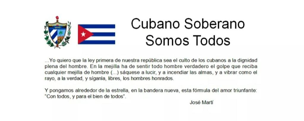 NO AL DIÁLOGO, Cuba suplica Libertad¡