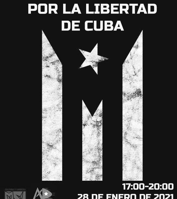 Convocatoria para el día 28 enero de 2021 en Madrid