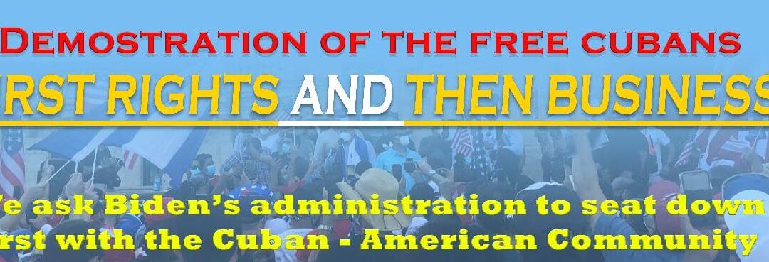 Este 20 de marzo, nos unimos por la Libertad de Cuba