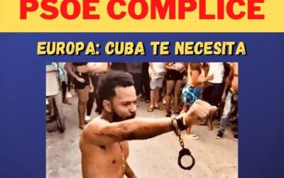 Manifestación Internacional contra la complicidad del #PSOE y la dictadura de La Habana